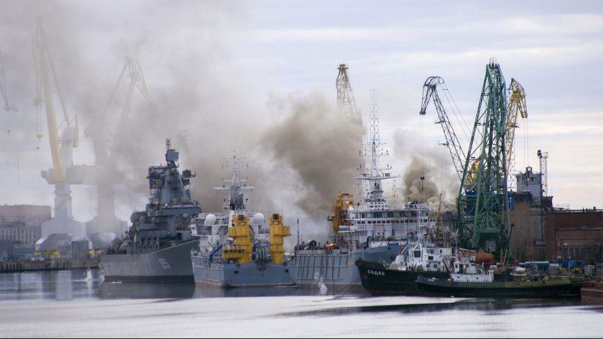 """Пожар на российской АПЛ """"Орел"""" ликвидирован"""