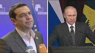 Tsipras meets Putin in bid to strengthen Greek-Russian ties