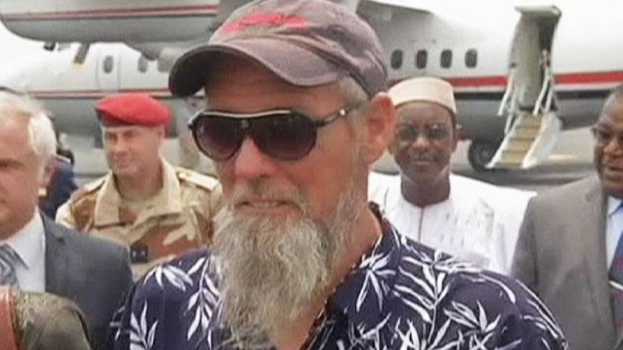 Freed Dutch hostage arrives in Bamako, Mali