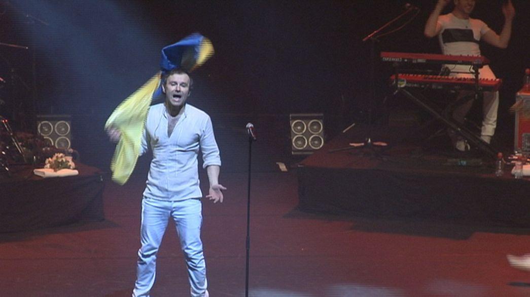 Tour mondiale della rock band ucraina Okean Elzy per i suoi 20 anni