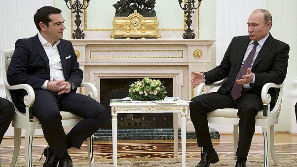 Moszkvában tárgyal a görög miniszterelnök
