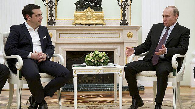 تسيبراس في موسكو من أجل تعاون اقتصادي وتجاري