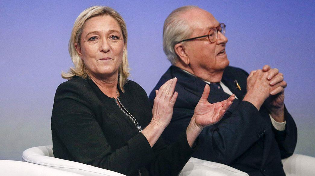 "Guerra na família Le Pen originada por ""antissemitismo"""