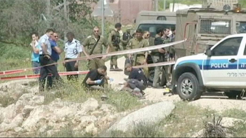 Palestinian shot dead after stabbing two Israeli soldiers in West Bank