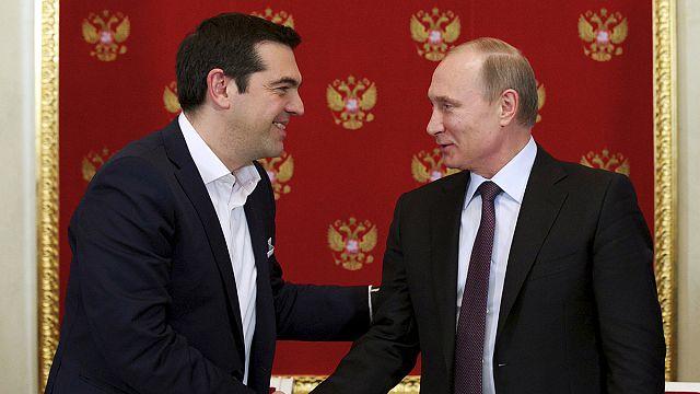 Путин: Греция не просила финансовой помощи у России
