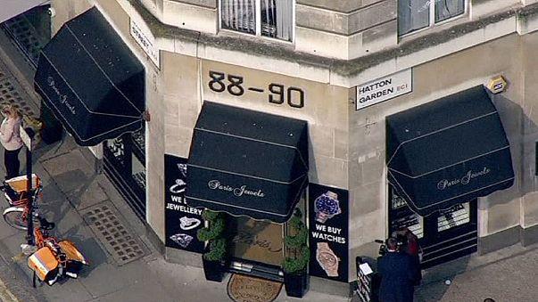 Jewels 'worth millions' stolen from London's diamond district