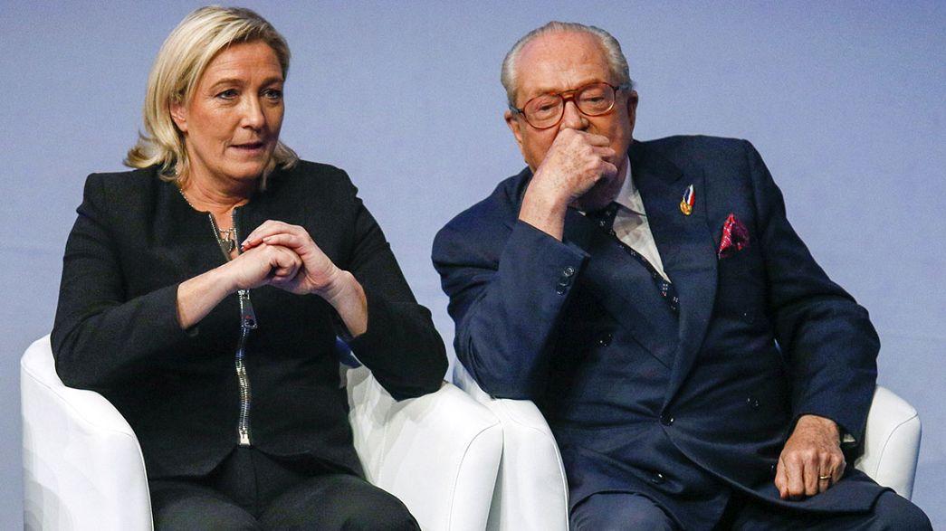 ¿Ruptura en la familia Le Pen?