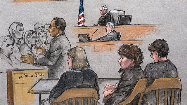 Джохар Царнаев признан виновным по всем 30 пунктам обвинения