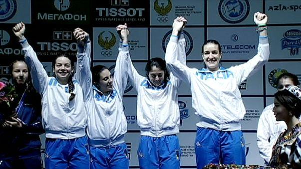 Mondiali cadetti e giovani scherma: azzurre d'oro nel fioretto e sciabola a squadre