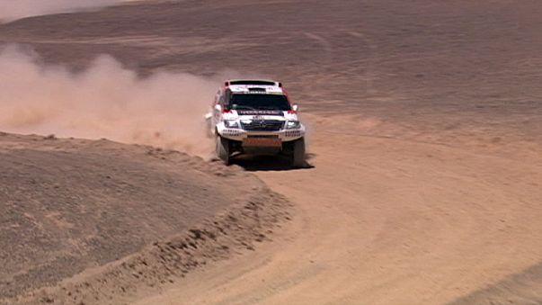 Chile fora do Dakar 2016