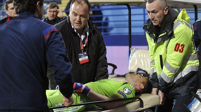 UEFA şiddetin faturasını hem Karadağ hem de Rusya'ya kesti