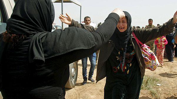 """تحرير 200 عراقي ينتمون للطائفة الأيزيدية من يد تنظيم """"الدولة الاسلامية"""""""