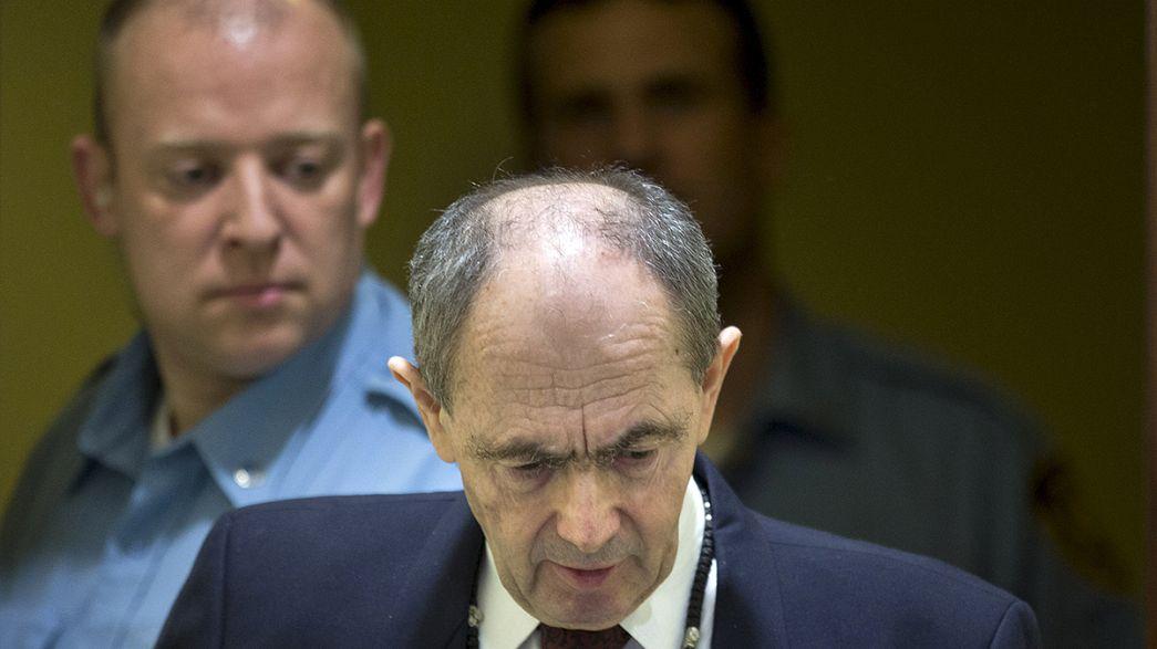 Bosnalı Sırp general Tolimir'in müebbet hapis cezası onandı