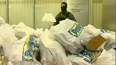 Romanya'da 4 milyon Euroluk kokain avı