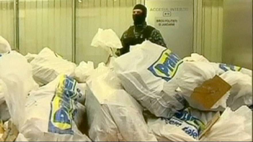 Cocaína 'negra' en piezas de muebles