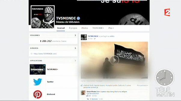 Ισλαμιστές χάκερς χτύπησαν το γαλλικό κανάλι TV5