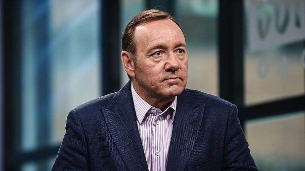 """Kevin Spacey attends the Build Series to discuss his new play """"Clarence Darrow"""" on May 24, 2017 in New York."""