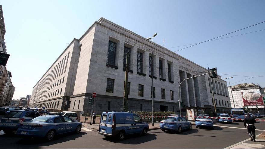 Witnesses recall terror of shooting at Milan courthouse