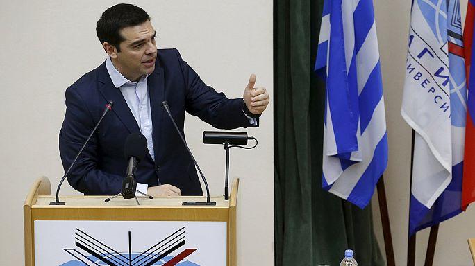 Grécia entre União Europeia e Rússia
