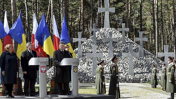 Коморовский: украинские солдаты отстаивают безопасность всей Европы