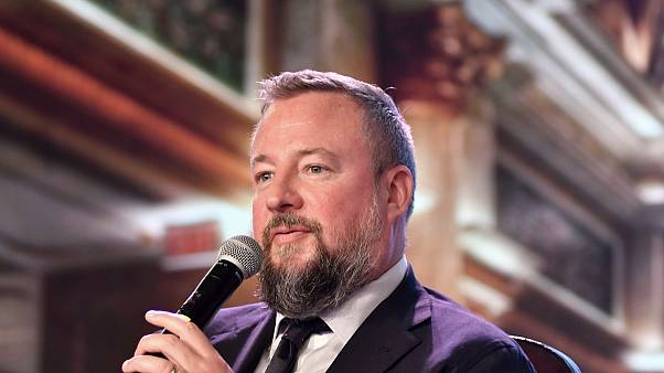 Image: Shane Smith, chief executive officer of Vice Media Inc., speaks duri