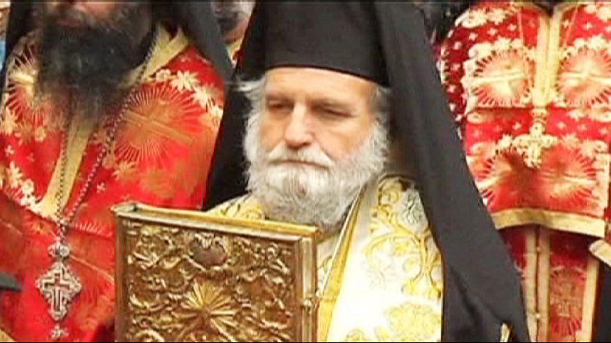 Orthodox Christians celebrate Easter in Jerusalem
