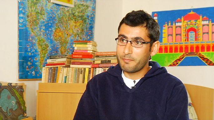 Fleeing Syria, Ali Kawa crossed the Black Sea on a refugee boat
