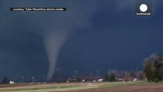 [Watch] Scary close-up footage of giant tornado in Illinois