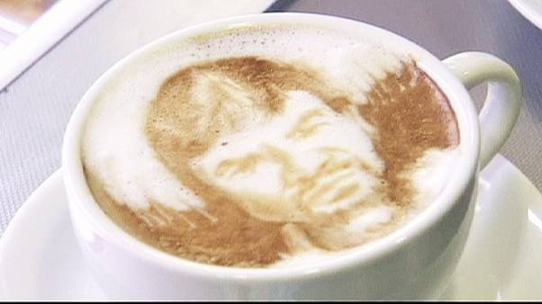 A sip of art with your morning coffee