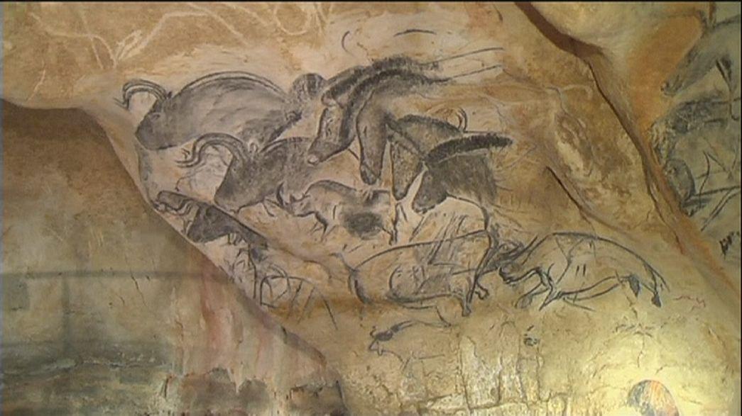 Eindrucksvoller Nachbau der Chauvet-Höhle in der Ardèche