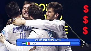 Italy reign supreme at Junior World fencing Championships
