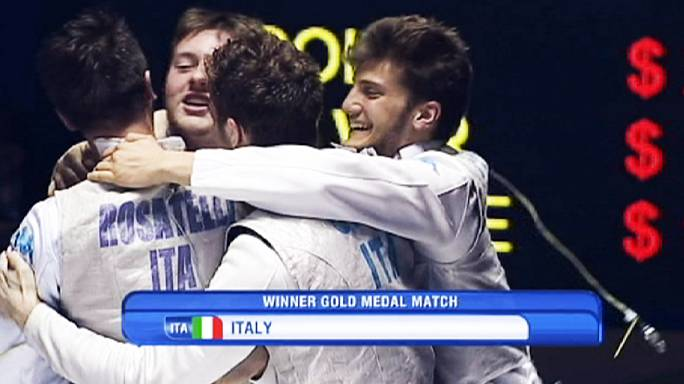 Dünya Gençler Eskrim Şampiyonası'na İtalya damgası