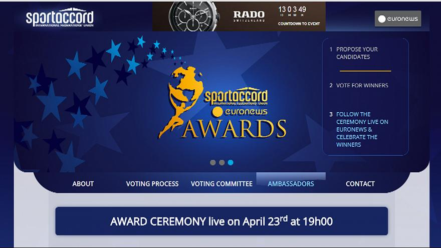 Vote: final stage of the official euronews/sportaccord awards