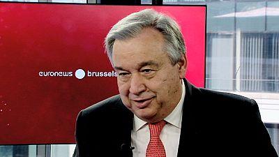 Guterres reafirma indisponibilidade para a Presidência