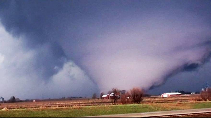 Sturmgebiet fegt mit Tornados über die USA