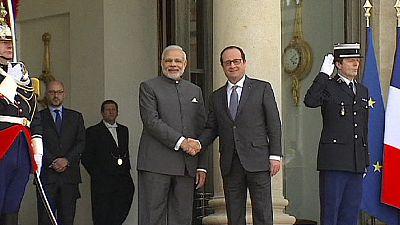 La India va a comprar 36 aviones de combate Rafale a Francia
