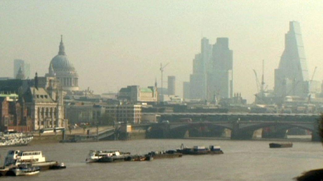 Londra'da hava kirliliği alarm veriyor