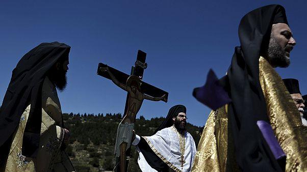 اليونان: إحتفال ديني بعيد الفصح بحضور رئيس الحكومة أليكسيس تسيبراس