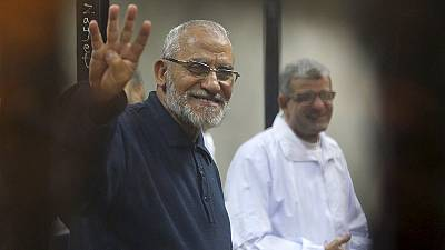 Death sentences for Muslim Brotherhood leader Mohamed Badie and others upheld in Egypt