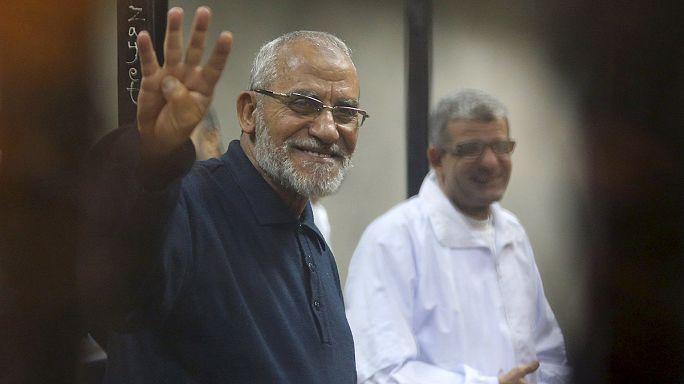 Egypte : le chef des Frères musulmans à nouveau condamné à mort