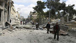 El grupo Estado Islámico mata a seis personas en un bombardeo con artillería en Alepo