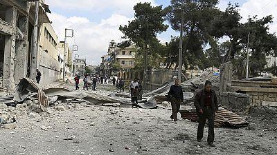 Bombe dell'Isil su Aleppo