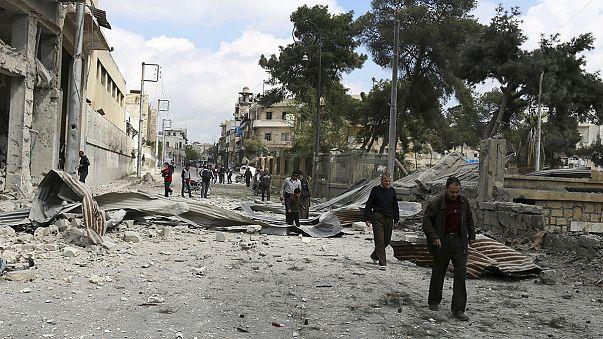 Артиллерия исламистов разрушила кварталы Алеппо, подконтрольные правительству