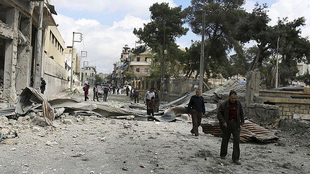 8 قتلى في قصف بالقذائف الصاروخية على حي السليمانية والسيد علي في حلب