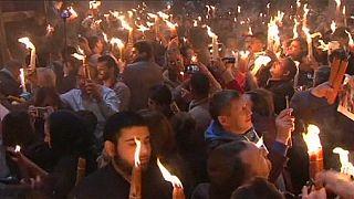 Igreja Ortodoxa celebra o Fogo Sagrado