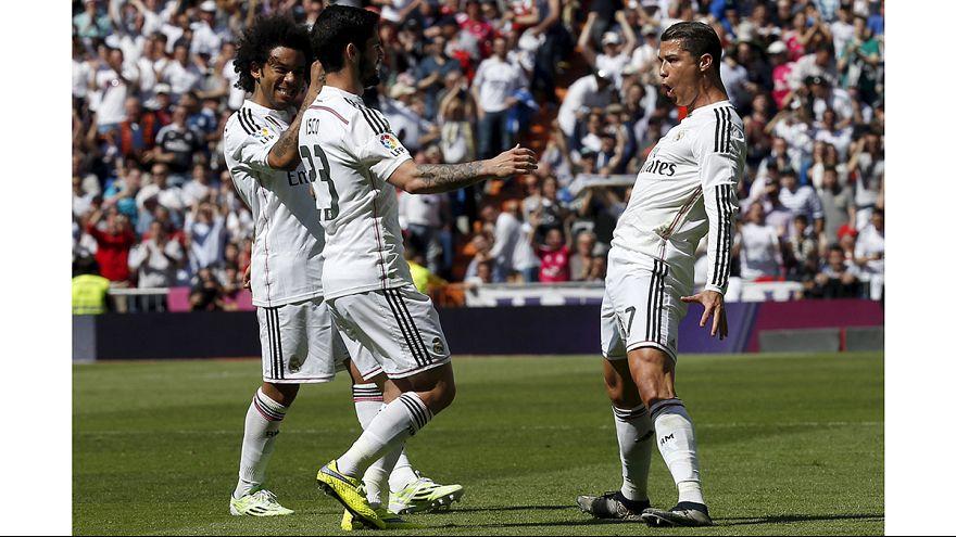 El Real Madrid recorta distancias tras el empate del Barcelona en Sevilla