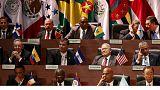 Gipfeltreffen der amerikanischen Staaten in Panama fortgesetzt