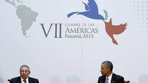 Obama and Castro make history with US-Cuba talks