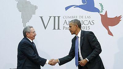 Historic US-Cuba talks between Obama and Castro