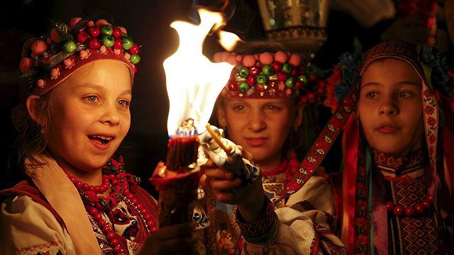 Rusya ve Ukrayna'da Paskalya kutlanıyor